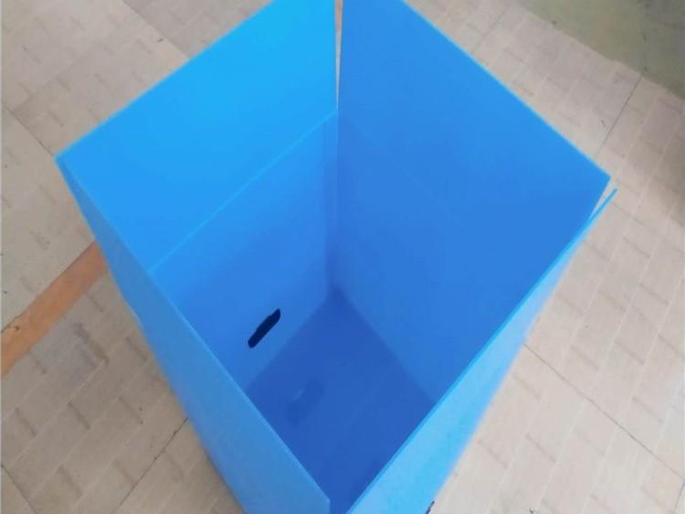 塑料中空板烟草箱