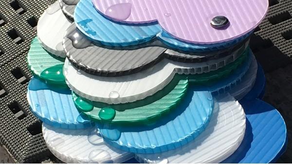 颜色丰富塑料中空板供大家选择