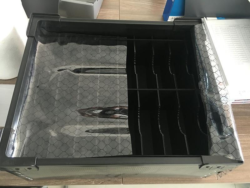 胶框防静电刀卡箱