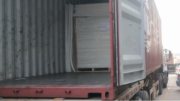 青岛中空板厂家日本出口订单圆满完成
