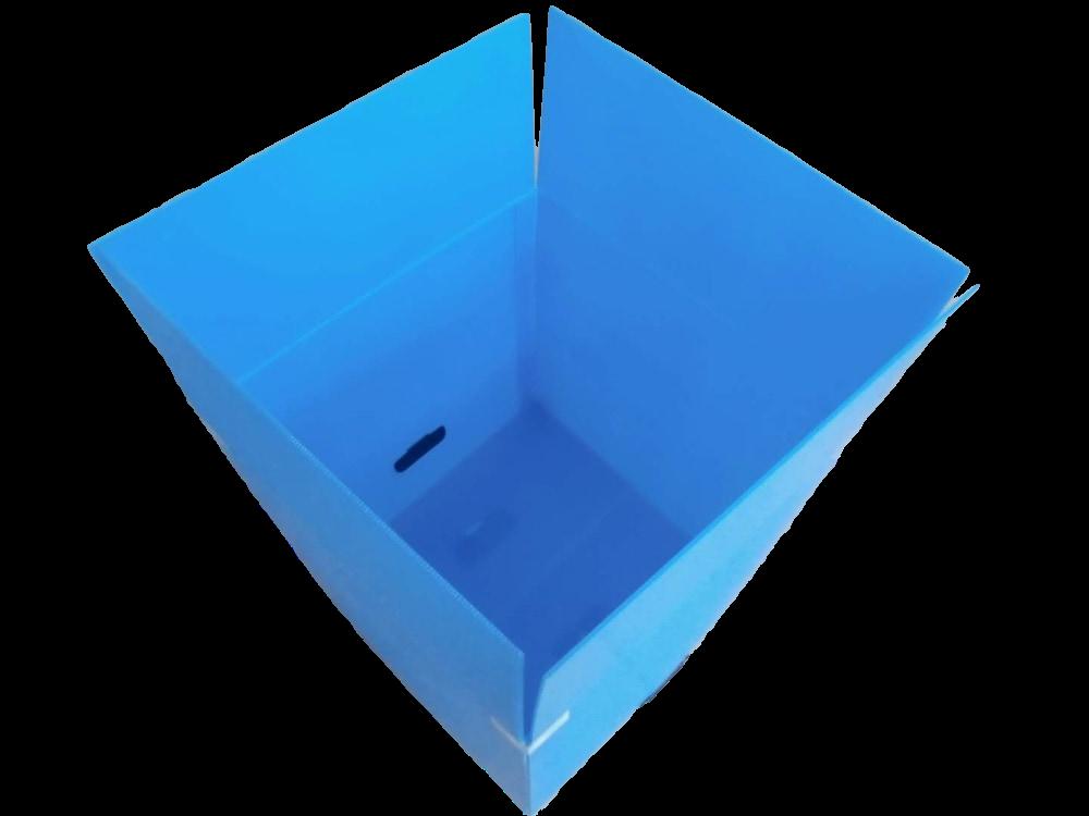 中空板食品折叠箱